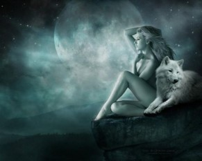 Full Wolf Moon in Cancer, Freyja's Day & Fri 13th
